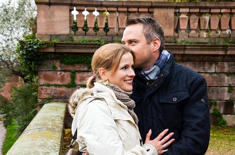 Das spotted-Paar Alena & Andreas